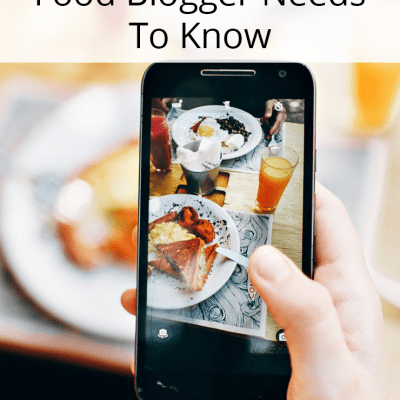 8 Secrets Every Food Blogger Needs To Know