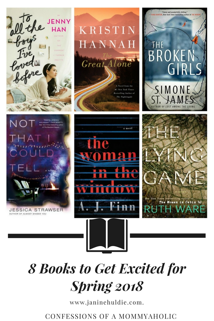 8 Books to Get Excited for Spring 2018
