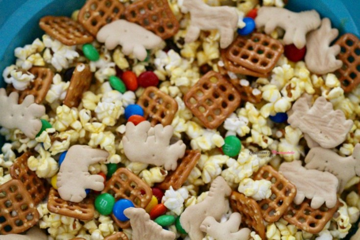 Jumanji Jungle Popcorn Mix Recipe