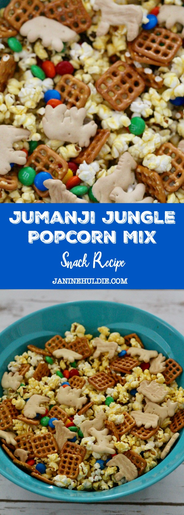 Jumanji Jungle Popcorn Mix Snack Recipe