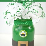 Leprechaun Mason Jar Craft for St. Patrick's Day