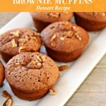 Light and Fluffy Chocolate Brownie Muffins Recipe