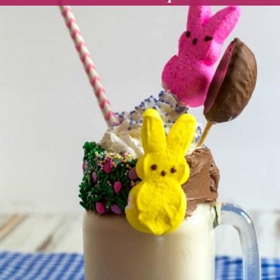 Peeps Candy Milkshake Recipe Featured Image