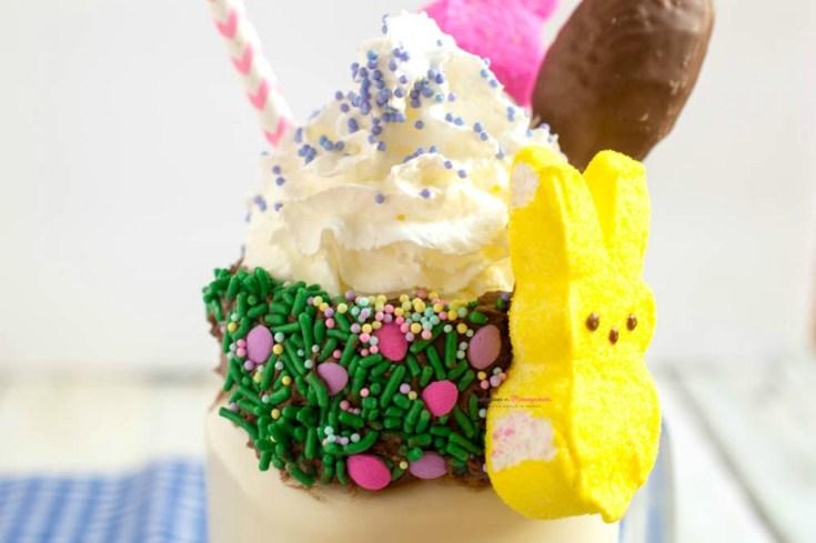 Peeps Candy Milkshake for Easter