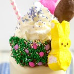 Peeps Candy Milkshake Recipe Horizontal 4