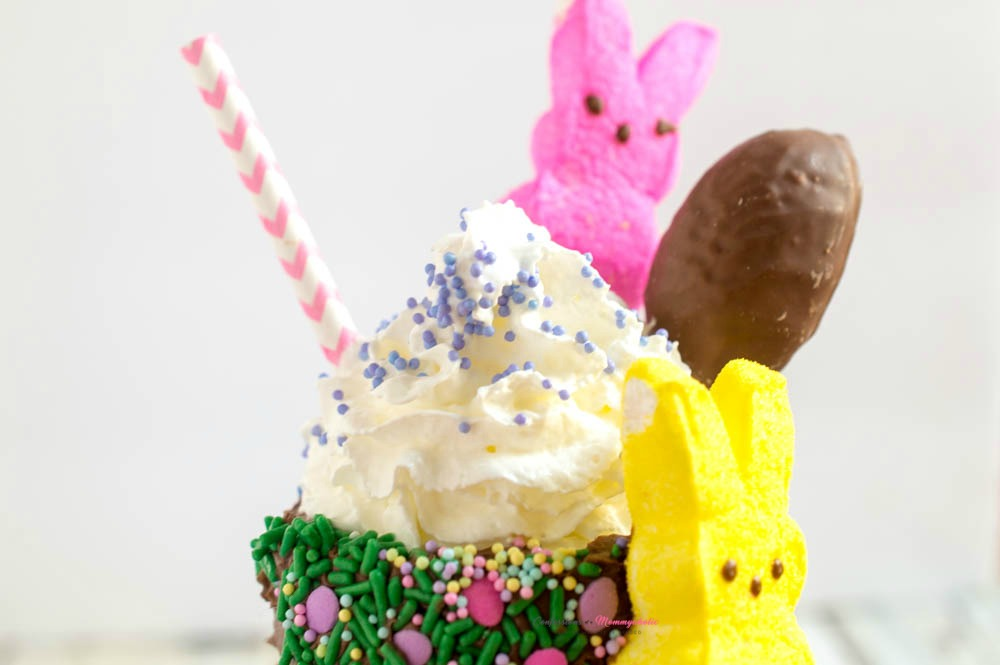 Peeps Candy Milkshake Recipe Horizontal 5