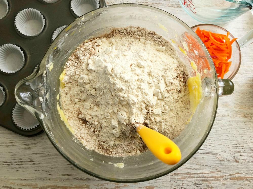 Process Carrot Cake Cupcakes 1