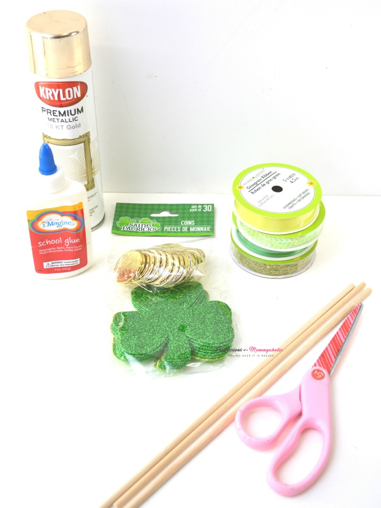 Sparkly Shamrock Wand Craft Supplies