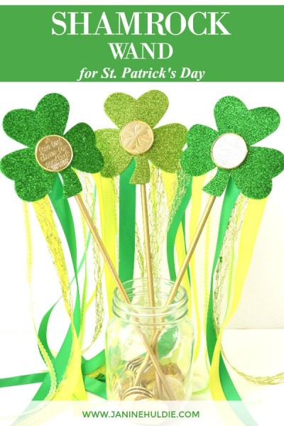 Sparkly Shamrock Wand Featured Image