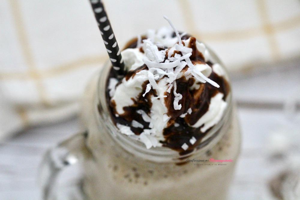 Almond Joy Frappuccino Recipe Horizontal 2