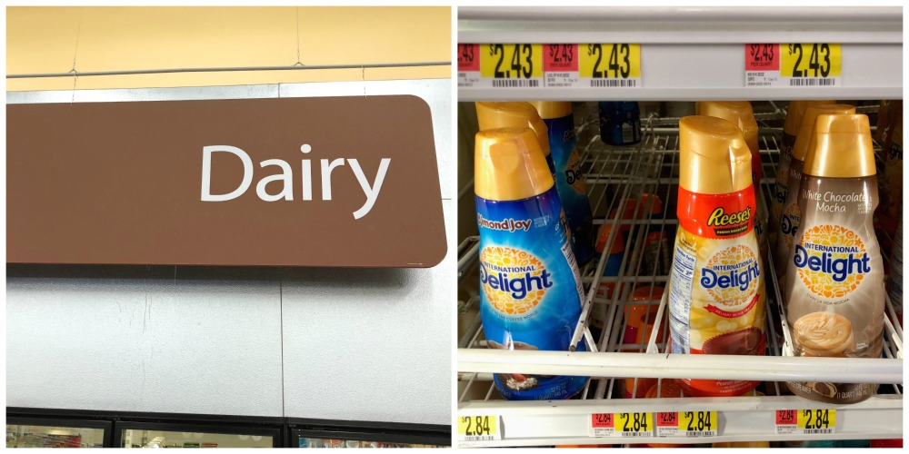 International Delight Coffee Creamers at Walmart