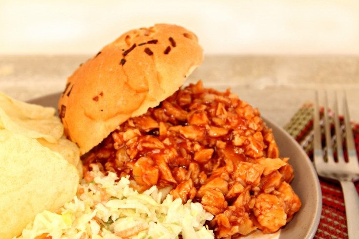 Sweet and Tangy Pulled BBQ Chicken Recipe Horizontal 2