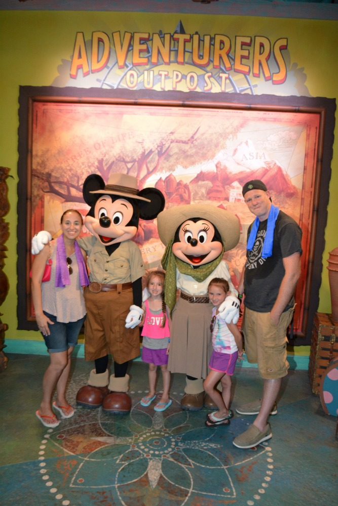 Animal Kingdom with Mickey and Minnie