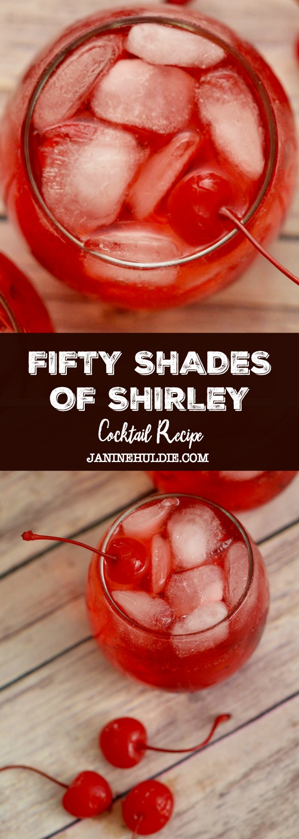 Fifty Shades of Shirley Cocktail Recipe