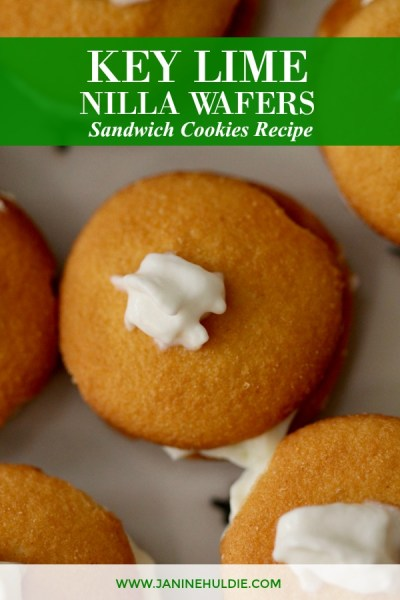 Key Lime NILLA Wafers Sandwich Cookies Recipe Featured Image