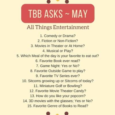 TBB ASKS ~ MAY