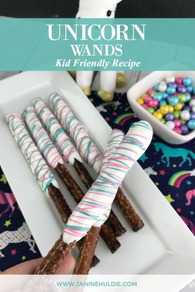 Unicorn Wands Recipe Featured Image