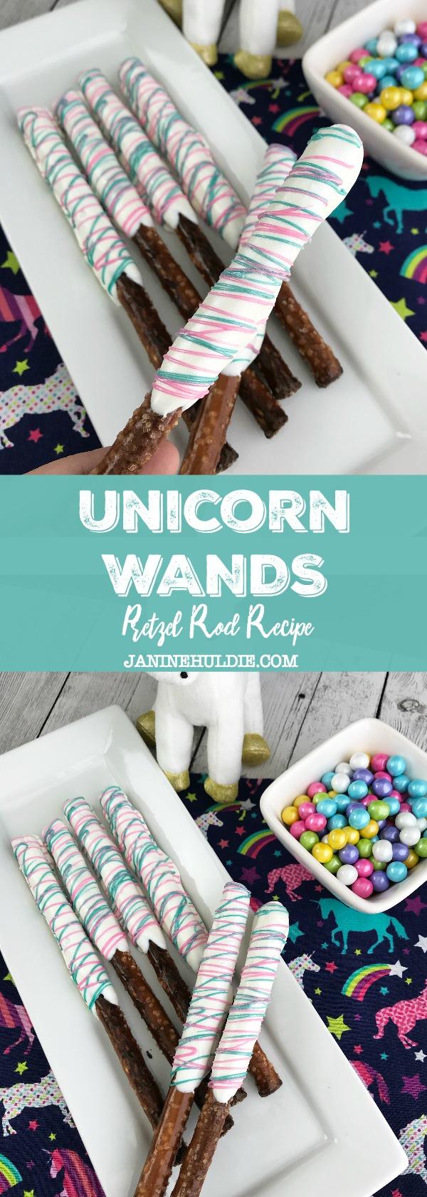 Unicorn Wands Recipe