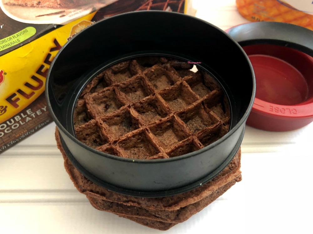 Chocolate Waffle Ice Cream Sandwich Horizontal 5