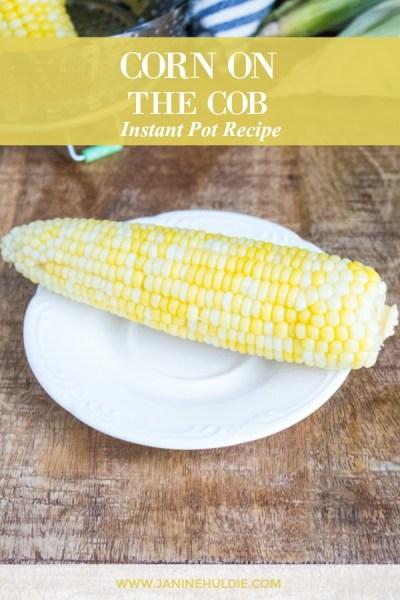 Corn on the Cob Instant Pot Recipe Featured Image