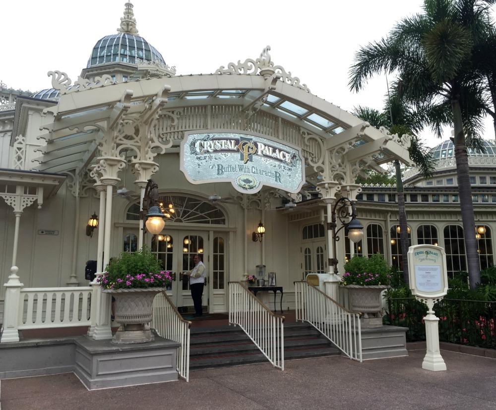 Disney World The Crystal Palace