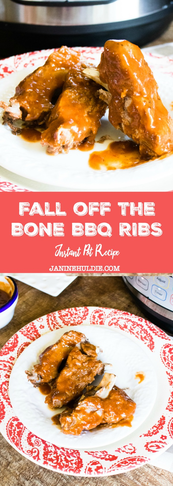Fall of the Bone BBQ Ribs Instant Pot Recipe