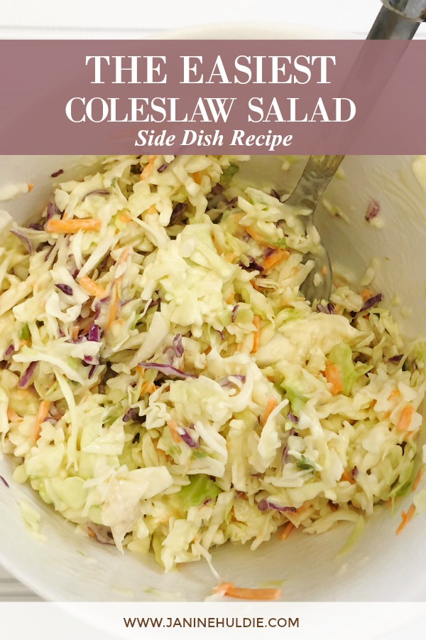 The Easiest Coleslaw Recipe Featured Image