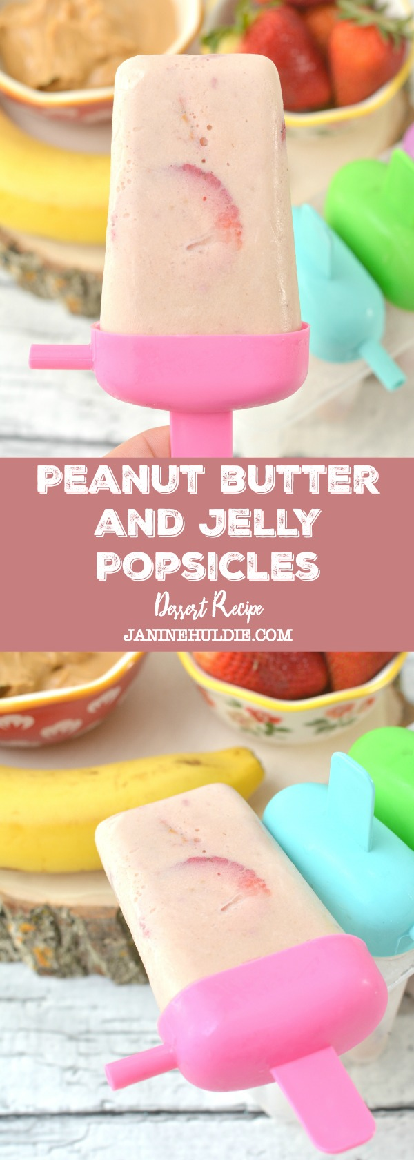 Peanut Butter and Jelly Popsicles Recipe