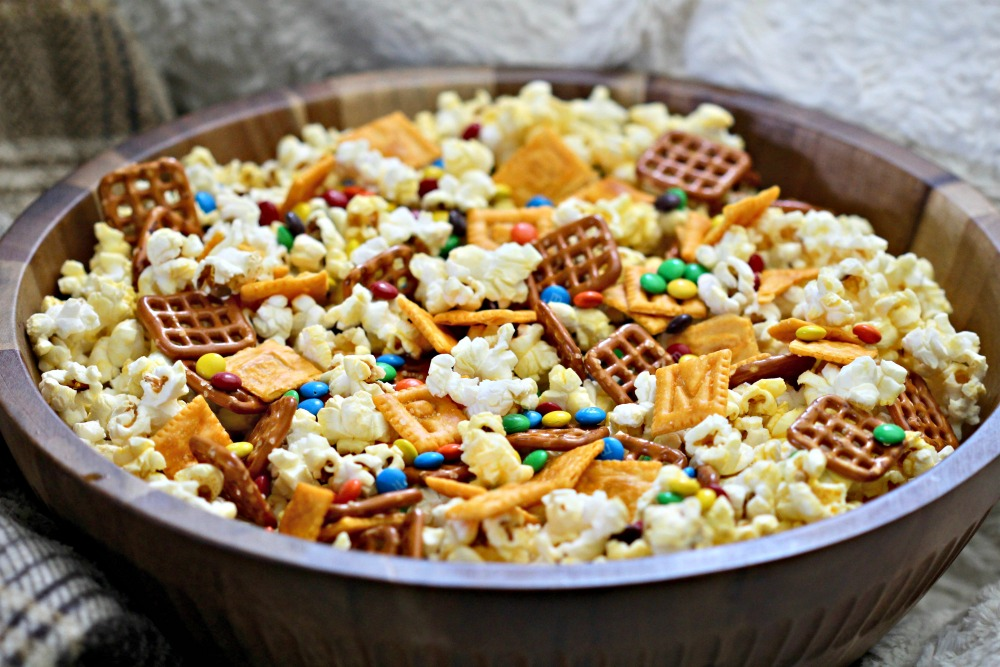 Alphabet Snack Mix Recipe 2