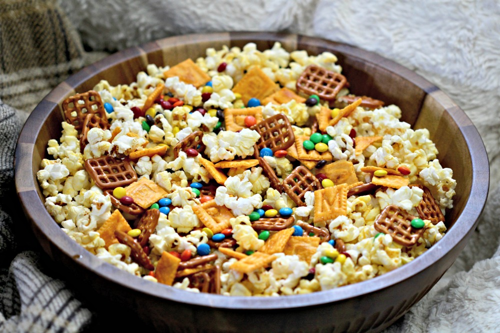 Alphabet Snack Mix Recipe