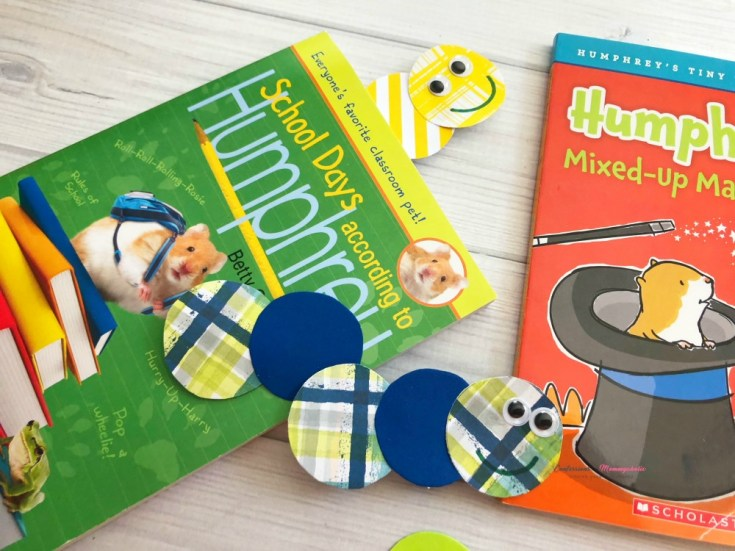 Back to School Bookworms Bookmark DIY Craft