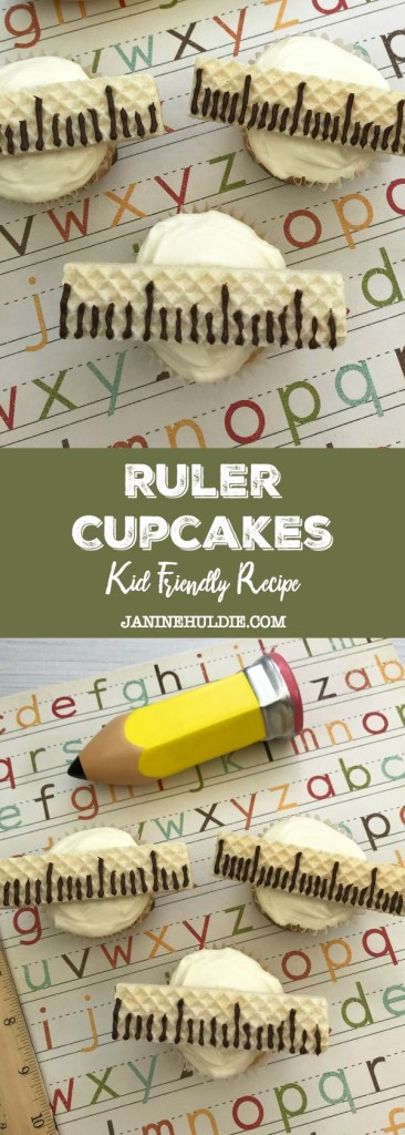 Ruler Cupcakes Recipe