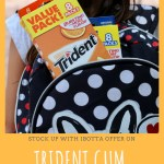 Stock Up on Trident Sugar Free Gum with ibotta Offer Now