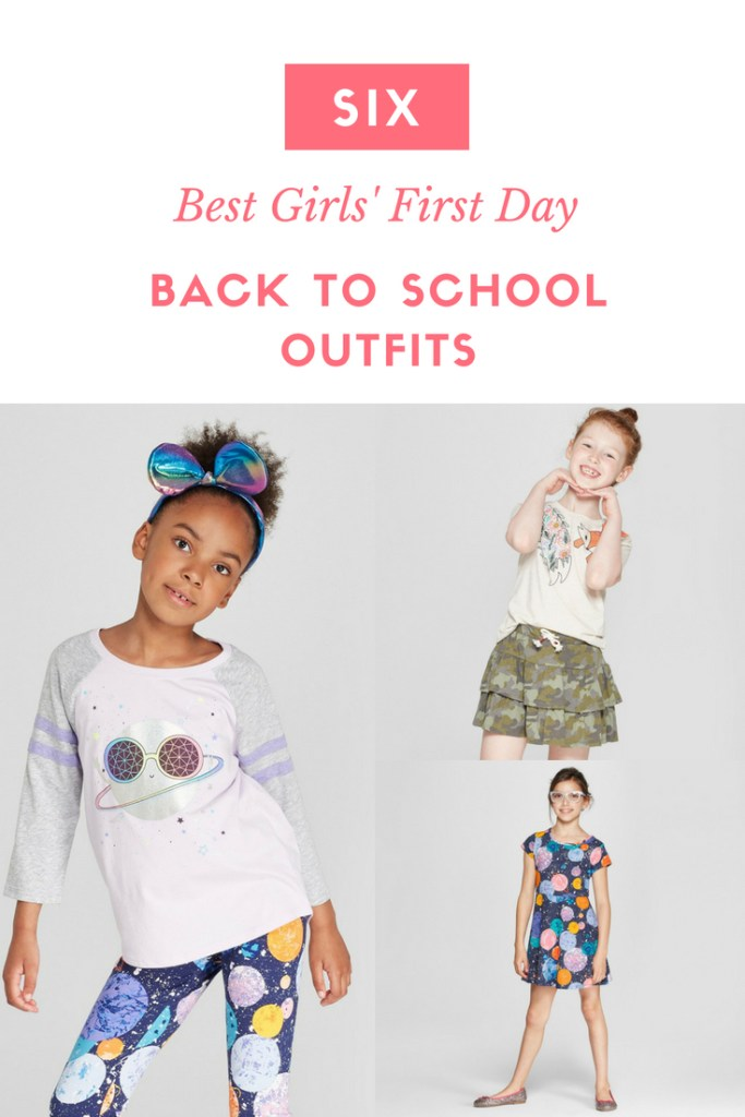 Six Best Girls Back to School Outfits