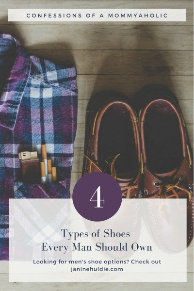 4 Types of Shoes Every Man Should Own