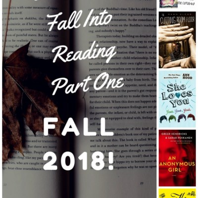 5 Books to Fall into Reading Part One Fall 2018