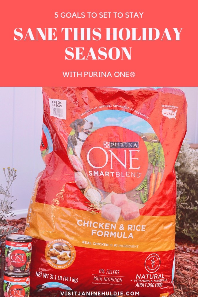 5 Goals to Set to Stay Sane This Holiday Season with Purina ONE