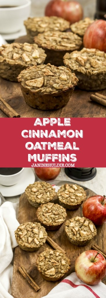 Apple Cinnamon Oatmeal Muffins Recipe