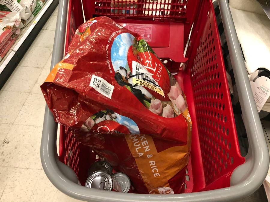 Cart at Target