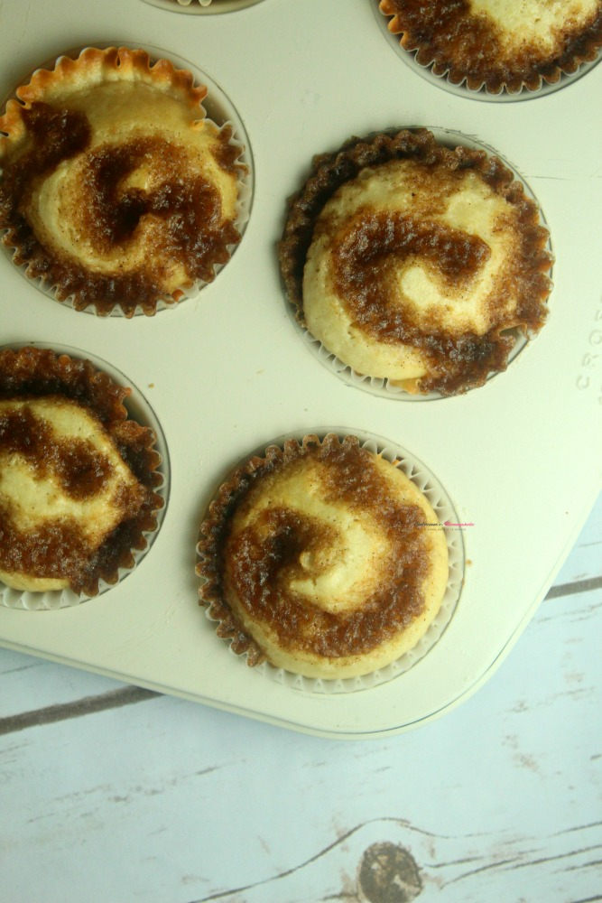 Cinnamon Roll Muffins Recipe Vertical 3