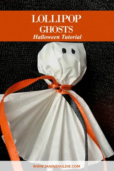 Lollipops Ghosts for Halloween Tutorial Featured Image