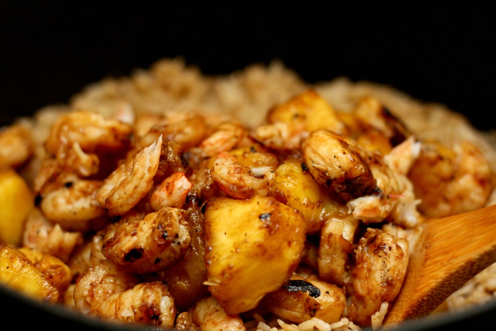Pineapple Shrimp Fried Rice, This Mom's Confessions