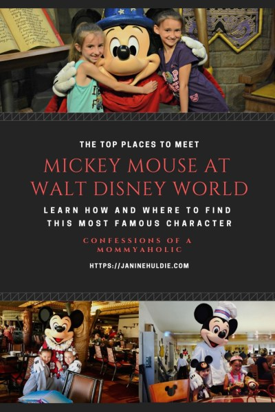 Top Places to Meet Mickey Mouse at Walt Disney World
