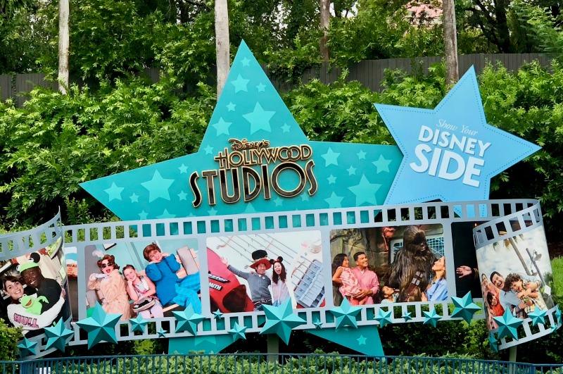 Walt Disney World Hollywood Studios Sign