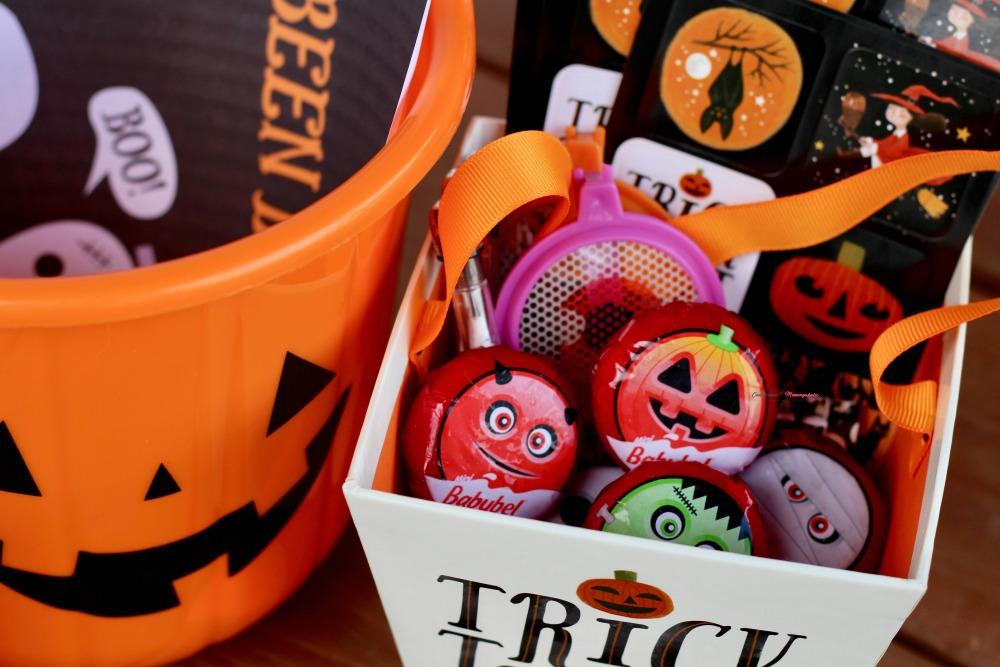 Closeup of Booed Halloween