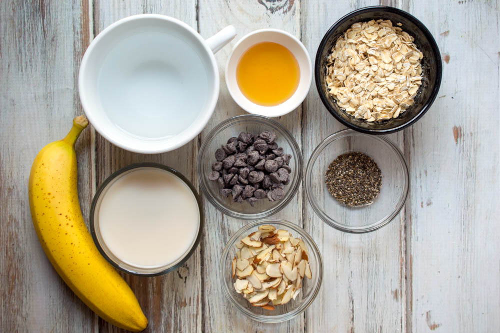 Chocolate Banana Nut Oatmeal, This Mom's Confessions