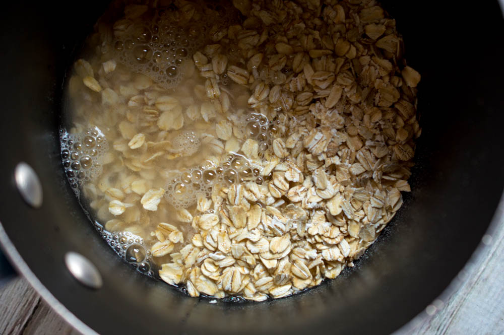 Chocolate Banana Nut Oatmeal Recipe Step 4