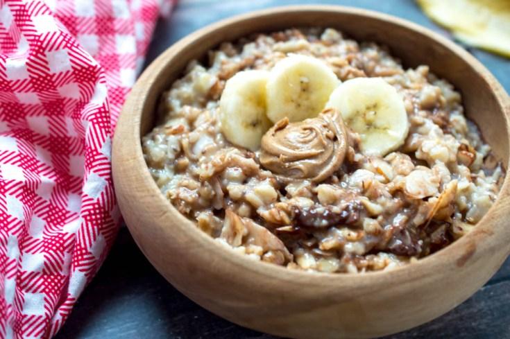 Chocolate Banana Nut Oatmeal Recipe