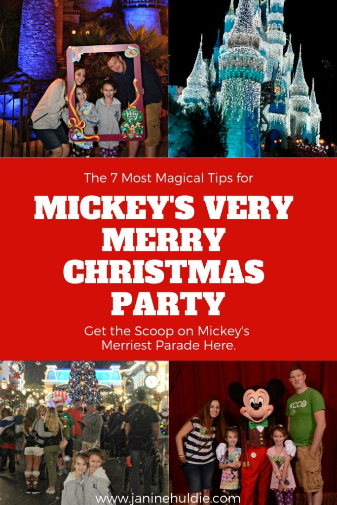 The 7 Most Magical Tips for Mickey's Very Merry Christmas Party 2018