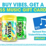 Trident Vibes Promo for FREE $5 iTunes Gift Card